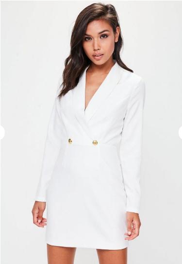 blazer dress missguided 40 pounds